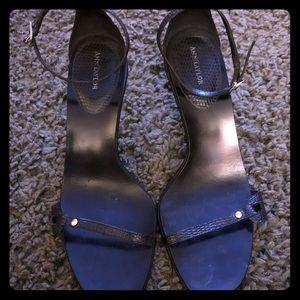 Ann Taylor high heel sandals